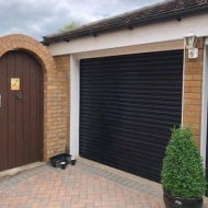 Single-Steel-Roller-Garage-Door
